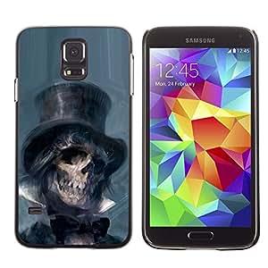 Caucho caso de Shell duro de la cubierta de accesorios de protección BY RAYDREAMMM - Samsung Galaxy S5 SM-G900 - Lincoln Abraham President Dead