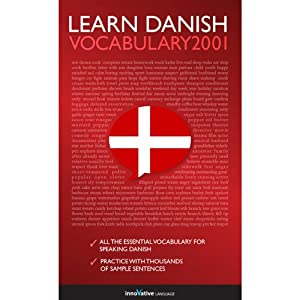 Learn Danish: Word Power 2001 Audiobook