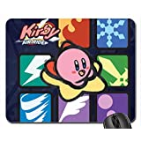 Kirby Air Ride Abilities Mouse Pad, Mousepad (10.2 x 8.3 x 0.12 inches)