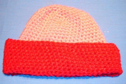 Ski Cap Crochet Pattern Adult Large Size Beanies / Skull Caps