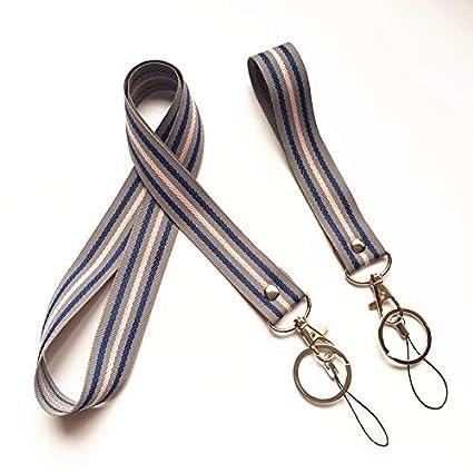 Streetwear - Llavero con cordón para el cuello, hecho a mano ...