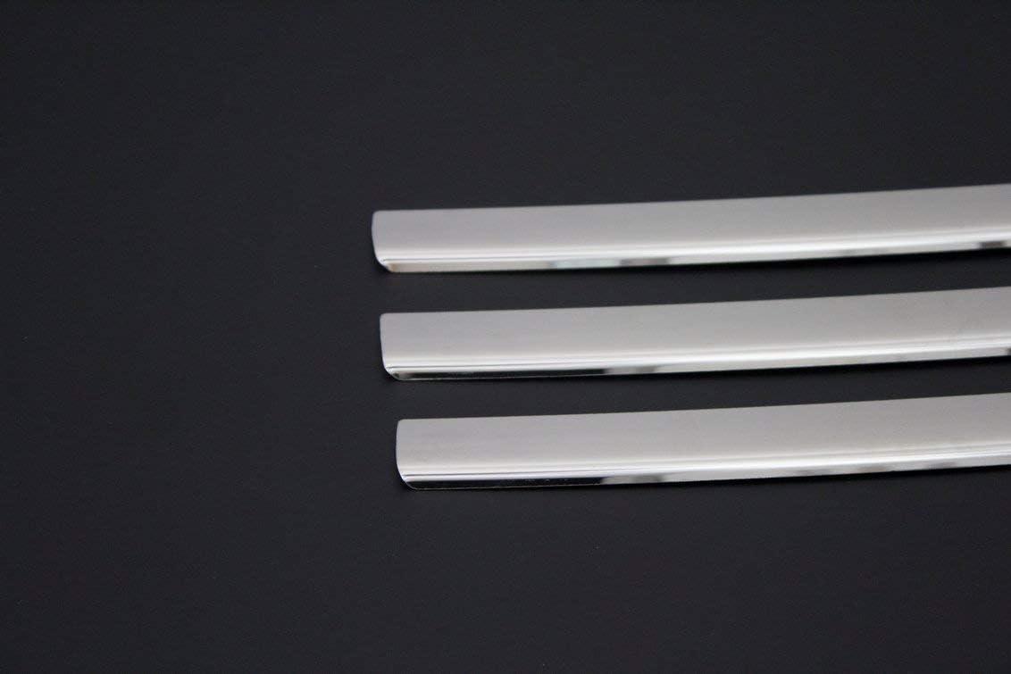 Lot de 6 housses de calandre avant en acier inoxydable pour Trafic II 2010-2014