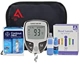 Diabetes Testing Kit (Bayer Contour NEXT EZ Meter + 50 Bayer Contour NEXT Test Strips + 50 Active1st 30g Lancets + Lancing Device + Control Solution + Owners Manual/Log Book)