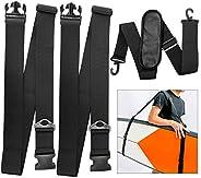 TOBWOLF Kayak Carrying Strap, Adjustable Paddle Board Carry Sling, Non-Slip Comfortable Canoe Storage Sling, S