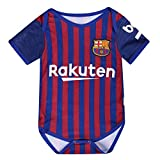 Barcelona Bodysuits OneSize for 9-18 Months Baby Suit Red/Blue