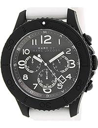 Marc by Marc Men's Rock MBM5525 White Rubber Quartz Watch