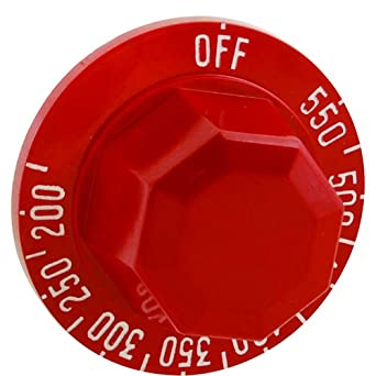 Vulcan Hart 00-498086-00007 Knob Red Replacement Part Free Shipping