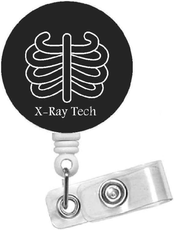 Badge reel,radiology CT chest radiology tech imaging images badges holder,retractable id tag,cute gift appreciation week ER unit staff magne