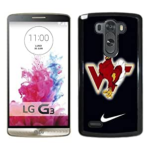 Provide Personalized Customized virginia tech hokie 02 Black Case For LG G3 Phone Case Cool Design