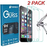 iPhone 8 Plus / 7 Plus / 6s Plus / 6 Plus Screen Protector, Tersely 【2 Packs】9H Hardness Case Friendly Tempered Glass Screen Protectors 3D Touch Compatible Anti-Scratch Touch Accurate Bubble Free Film Guard for Apple iPhone 8 Plus / iPhone 7 Plus / iPhone 6s Plus / 6 Plus [5.5 inch]