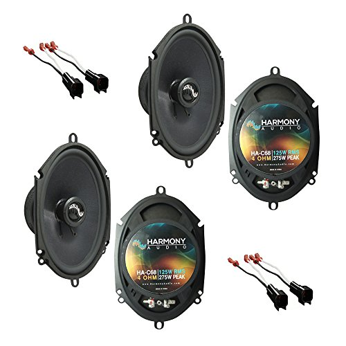 Fits Ford F-150 2004-2008 Factory Premium Speaker Replacement Harmony (2) C68 - Factory Speaker Replacement