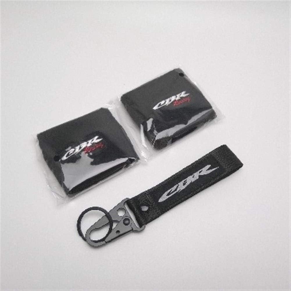 Reservoir Socken Motorrad Bremsfl/üssigkeitsbeh/älter Beh/älter Sleeves HRC for Honda CBR1000RR CBR600RR CBR250R CBR600F4i NSR250 Color : 2 Pieces