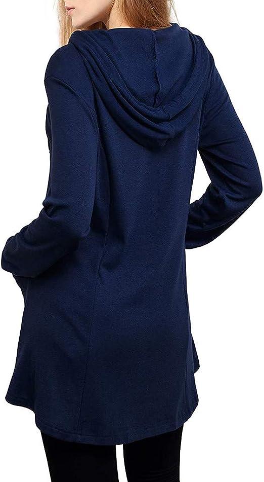 CHMORA Parte superior de las mujeres, Cintura Delgada Suéter ...