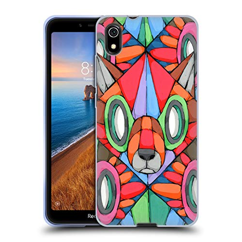 (Official RIC Stultz Wolf in The Roost Birds Soft Gel Case Compatible for Xiaomi Redmi 7A (2019) )