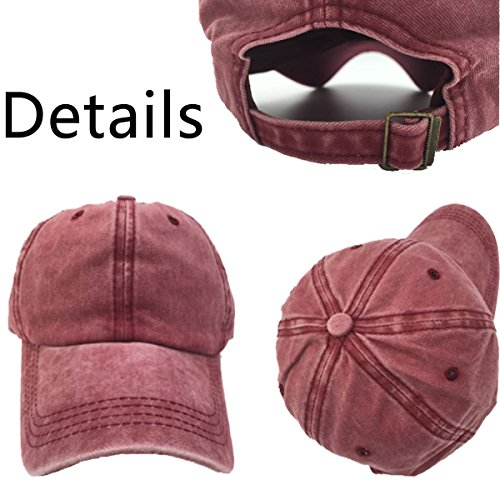 Cap Vegeta Aidear Outdoor Classic Style Mens Black Vintage amp;womens Denim p0Zrqf0wT