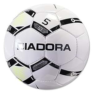 Diadora Stadio R Soccer Ball (White/Black, 3)