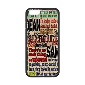 "Supernatural Quotes DIY Case for Iphone6 Plus 5.5"",Supernatural Quotes custom case"