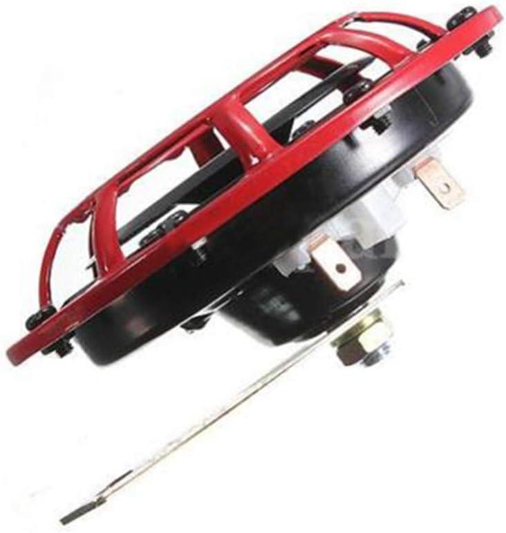 GEDHH Klaxons de Voiture 1 Paire 12V 115DB avertisseur sonore Puissant sir/ène /à Double Ton Pompe /électrique klaxon Automatique pour Moto Voiture SUV Van Camion Camion,A