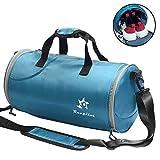 Cheap Sports Duffel Bag Gym Bag – Waterproof with Shoes Compartment 25L Women Men