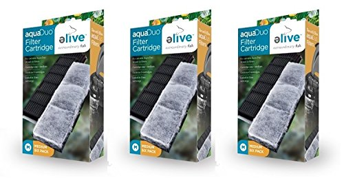 Image of Elive Aqua-Duo Filter Cartridges - 18 Pack (3 Packages with 6 Filters per Package)