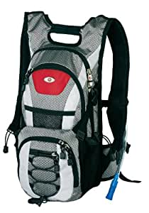 Swiss Gear SG25094 Oasis Technical 2L Hydration Pack (Grey/Black/Red/White)