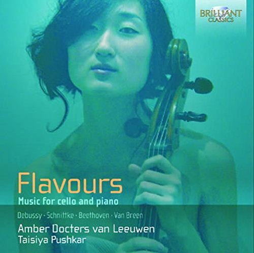 CD : Amber Docters van Leeuwen - Flavours: Music For Cello & Piano (CD)