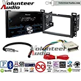 Volunteer Audio Pioneer MVH-S400BT Double Din Radio Install Kit with Bluetooth USB/AUX Fits 2004-2007 Chevrolet Malibu, 2005-2009 Pontiac G6 (Non-Amplified only)