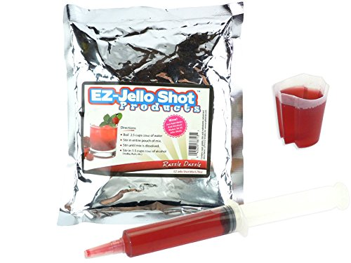 - Razzle Dazzle EZ-Jello Shot Mix 6.78 oz
