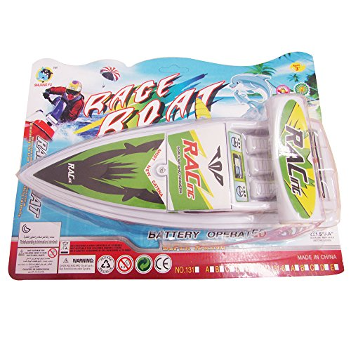 dazzling toys Battery Operated 10 Inch Water Boat Toy