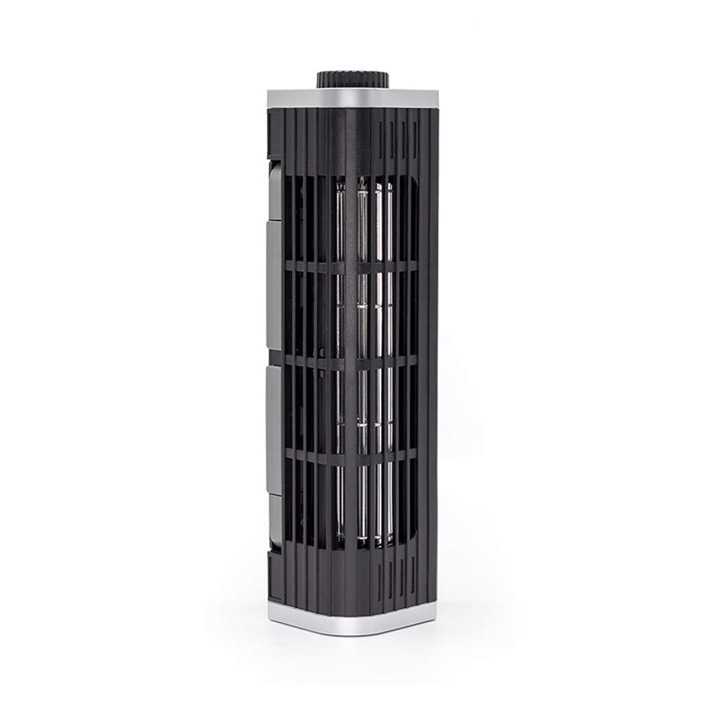 Laptop Cooler Adjustable Cooling Stand,Gunel USB Laptop Cross-Flow Cooling Fan & Pad Multi Function Turbine Cooler Cooling Holder for Laptop Tablet Phone (Black) by Gunel home