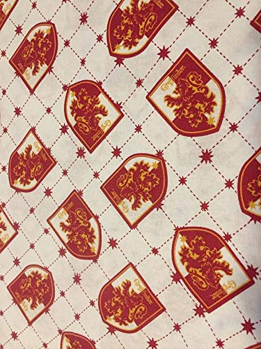 (Country Snuggles Harry Potter Gryffindor Fabric by The Yard (Fat)