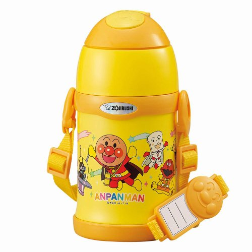 Zojirushi Anpanman Thermal Stainless Cool Bottle 0.45 liter ( 15.2 oz. ) | ST-ZF45A-EZ (Japan Import) by Zoujirushi
