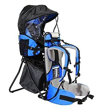FA Sports Lil Boss Kids Carrier - Porta niños, color azul/gris / negro