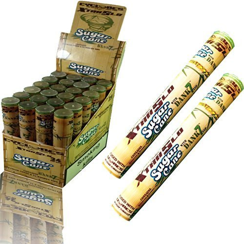 1 x New top quality Pre Rolled Cigar cones & Wooden Tips by CYCLONES With Dank 7 Tip - SUGAR CANE by Dank7 by Unknown