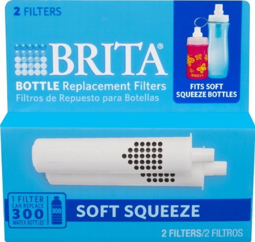 brita water bottle filter. Amazon.com | Brita Soft Squeeze Water Filter Bottle Replacement Filters, 2 Count: Pitcher Filters: Serveware D