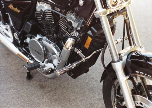 Mc Highway Bars Enterprises (MC Enterprises Multi-Fit Hi-Way Bars With O-Ring Footpegs Chrome Universal)