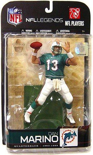 - McFarlane Toys NFL Sports Picks Legends Series 5 Action Figure Dan Marino (Miami Dolphins) Aqua Jersey