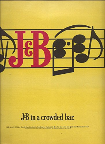 Whiskey Advertisement - MAGAZINE ADVERTISEMENT For 1991 J&B Scotch Whisky In A Crowded Bar