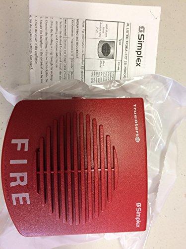 RED NEW SIMPLEX 49AV-WRF A//V M-C ADDRESSABLE WALL MT W// FIRE MARKINGS
