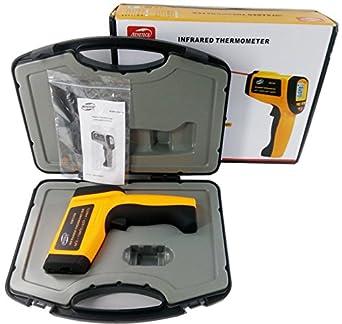 BENETECH GM1350 Termómetro Digital sin contacto termómetro de infrarrojos Gun IR Rango de medición: -