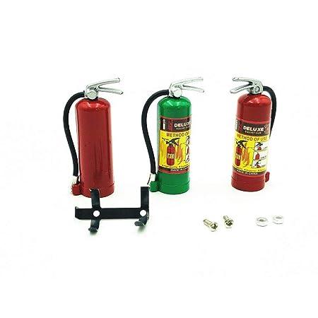 FairOnly 1//10 RC Extintor de Incendios Modelo para RC Car Axial Scx10 Trx4 D90 Cc01