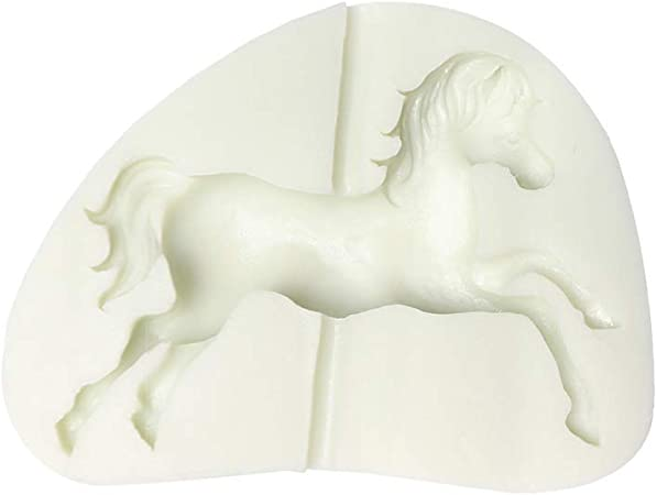 HORSE SHOE SURROUNDING HORSE  mold molds all occasion  x