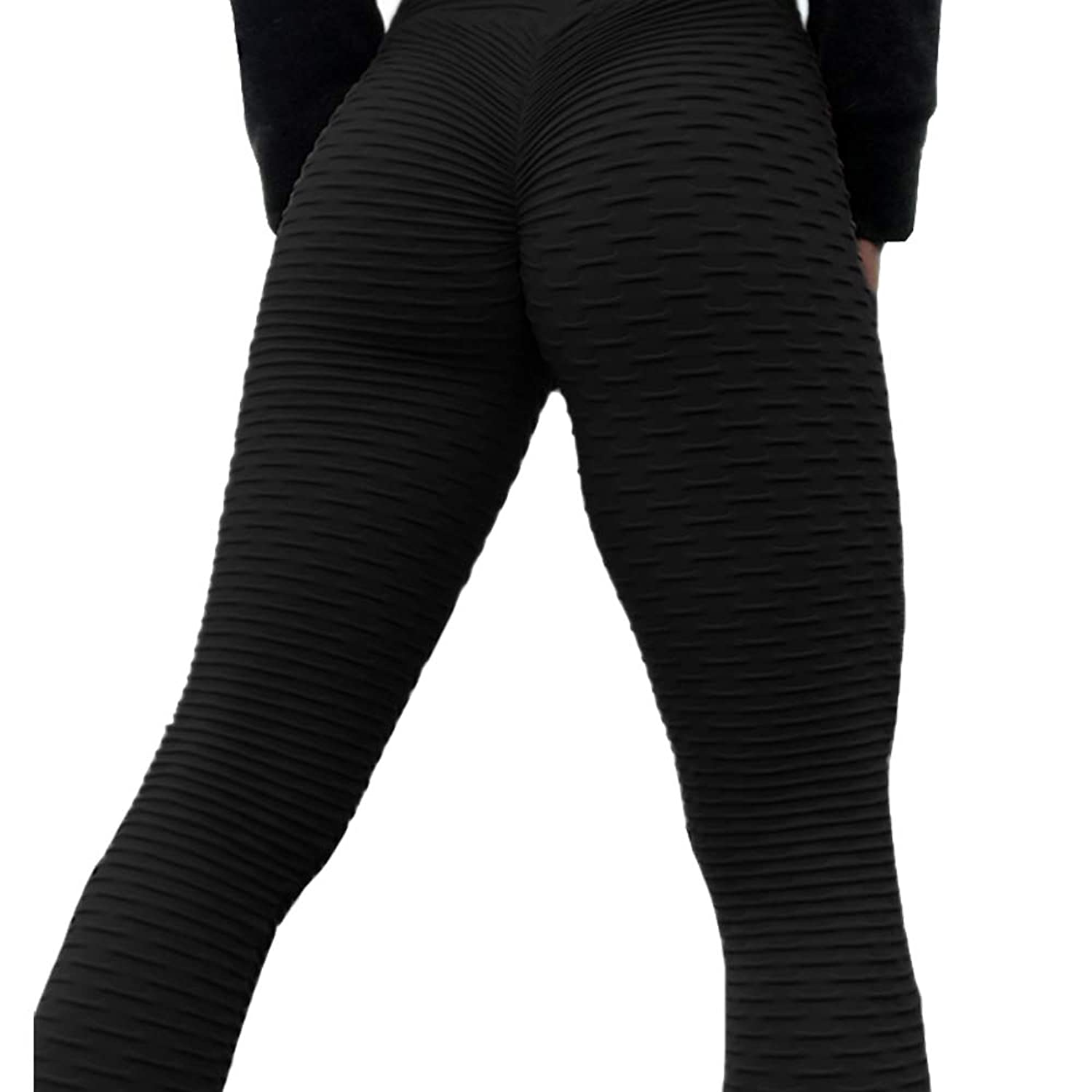a9532f69f5 Active high waist yoga pants leggings for women: made of high performance  Texture fabric. These spandex leggings are sleek and feel like satin on the  skin.