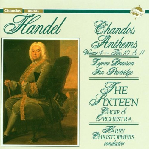 Price comparison product image Chandos Anthems Vol.4 No. 10 & 11 by G.F. Handel (1992-07-29)