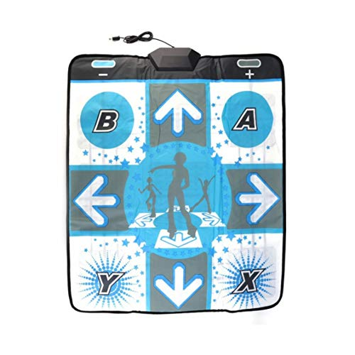 Party Dance Pad - Newest Anti Slip Dance Revolution Pad Mat Dancing Step for Nintendo for WII for PC TV Hottest Party Game Accessories
