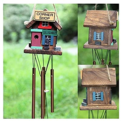 Amazing Grace Chime Deliver Rich, Full, Relaxing Tones - Best Large Wooden Wind Chime For Outdoor Patio - Home decor accents - Outdoor décor chime from HONGKONG DENCO PACIFIC LIMITED