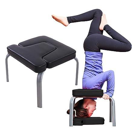 Silla de manos con taburete de yoga Silla de cabeza de Banco ...