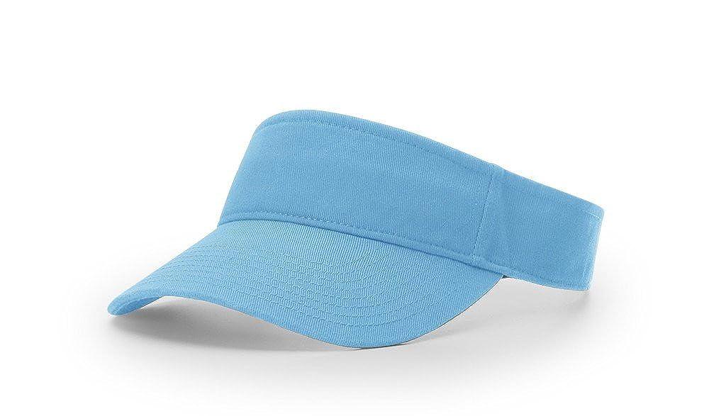 d0679eff69c Richardson R45 Garment Washed Blank OSFA Sun Visor Adjustable Cap ...