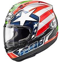 Arai Nicky-6 Adult Cosair-X Street Motorcycle Helmet - Nicky-6 /Large