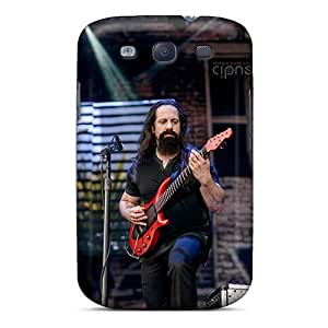Shock Absorption Hard Cell-phone Case For Samsung Galaxy S3 With Unique Design Realistic Dream Theater Band Series AshleySimms